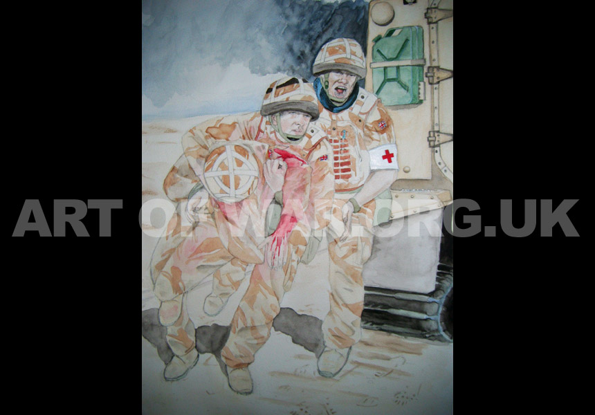 Helmand Province War Painting